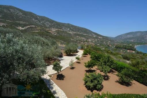 Sea view villa 215 m2 Epidavros