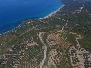 Sea view land property at Ionion sea Vrachos Preveza