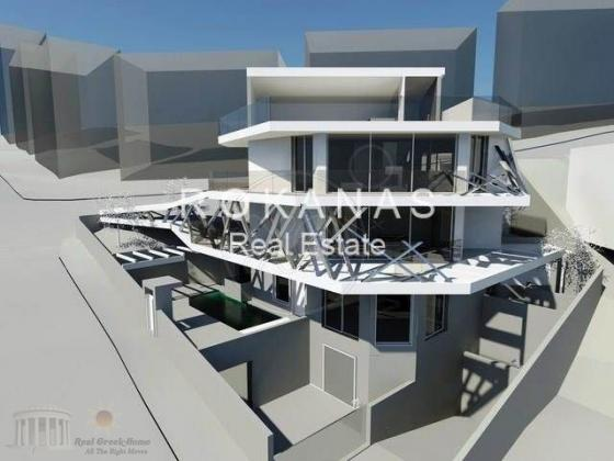 LUXURY VILLA FOR SALE IN THE SUBURB OF ATHENS