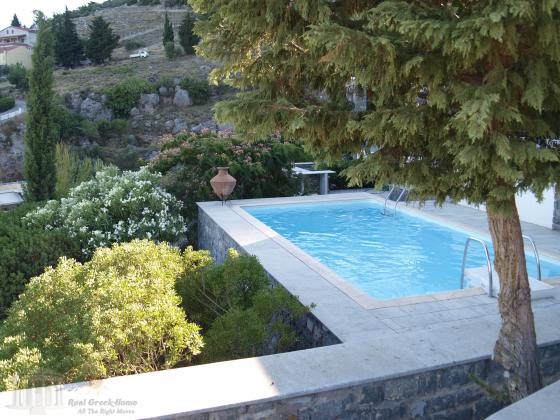 206 sqm villa located by aegean sea in chios island greece