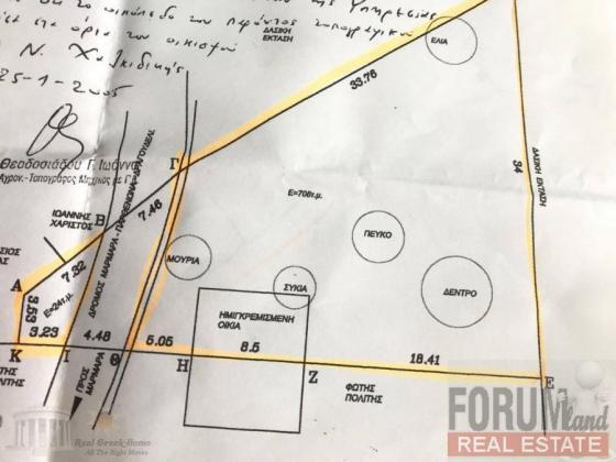 CODE 9453 - Land Plot for sale Neos Marmaras (Sithonia)
