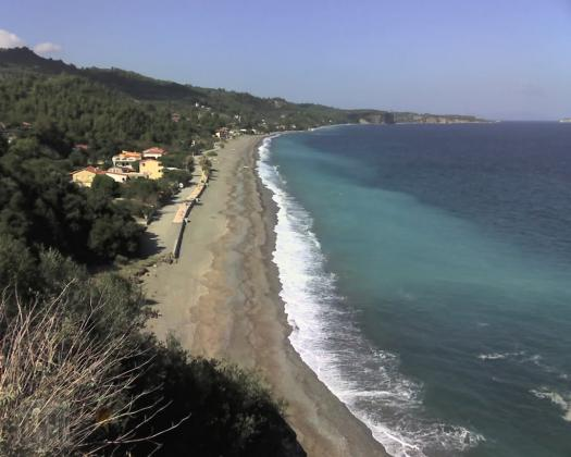 Land for sale by the sea in Ahladi, Euboea island, Greece